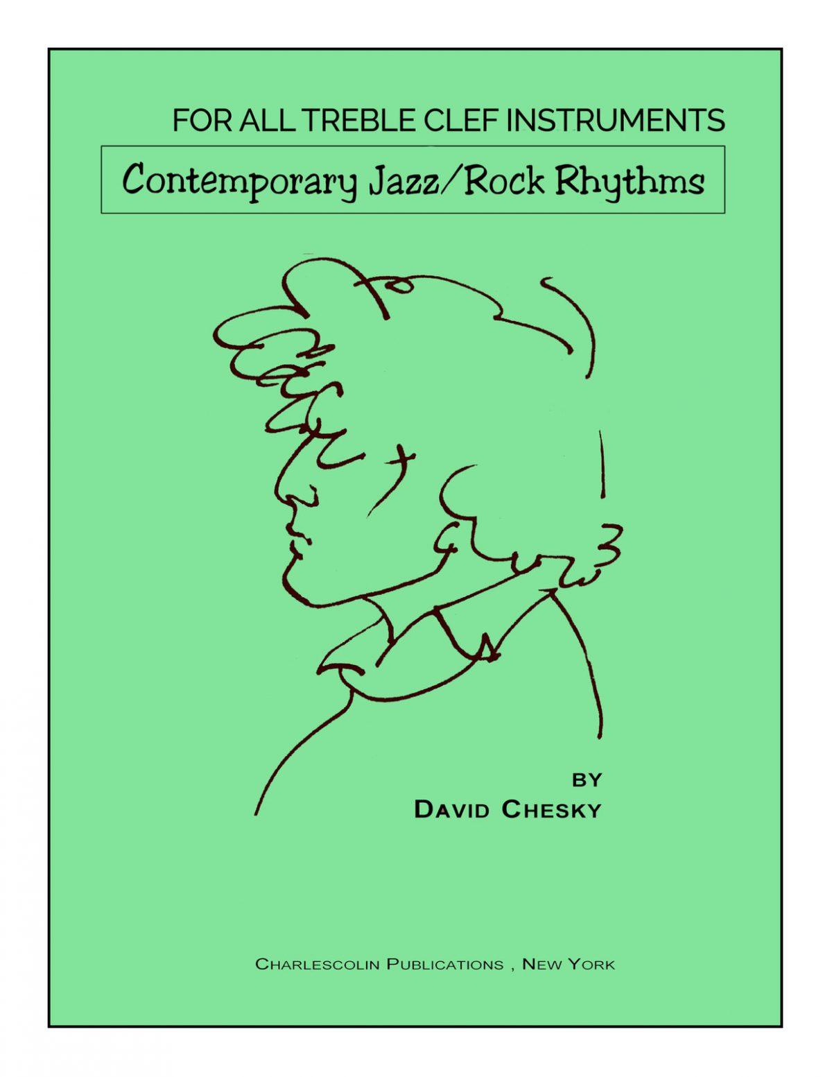 Chesky Contemporary Jazz-Rock Rhythms Treble Clef