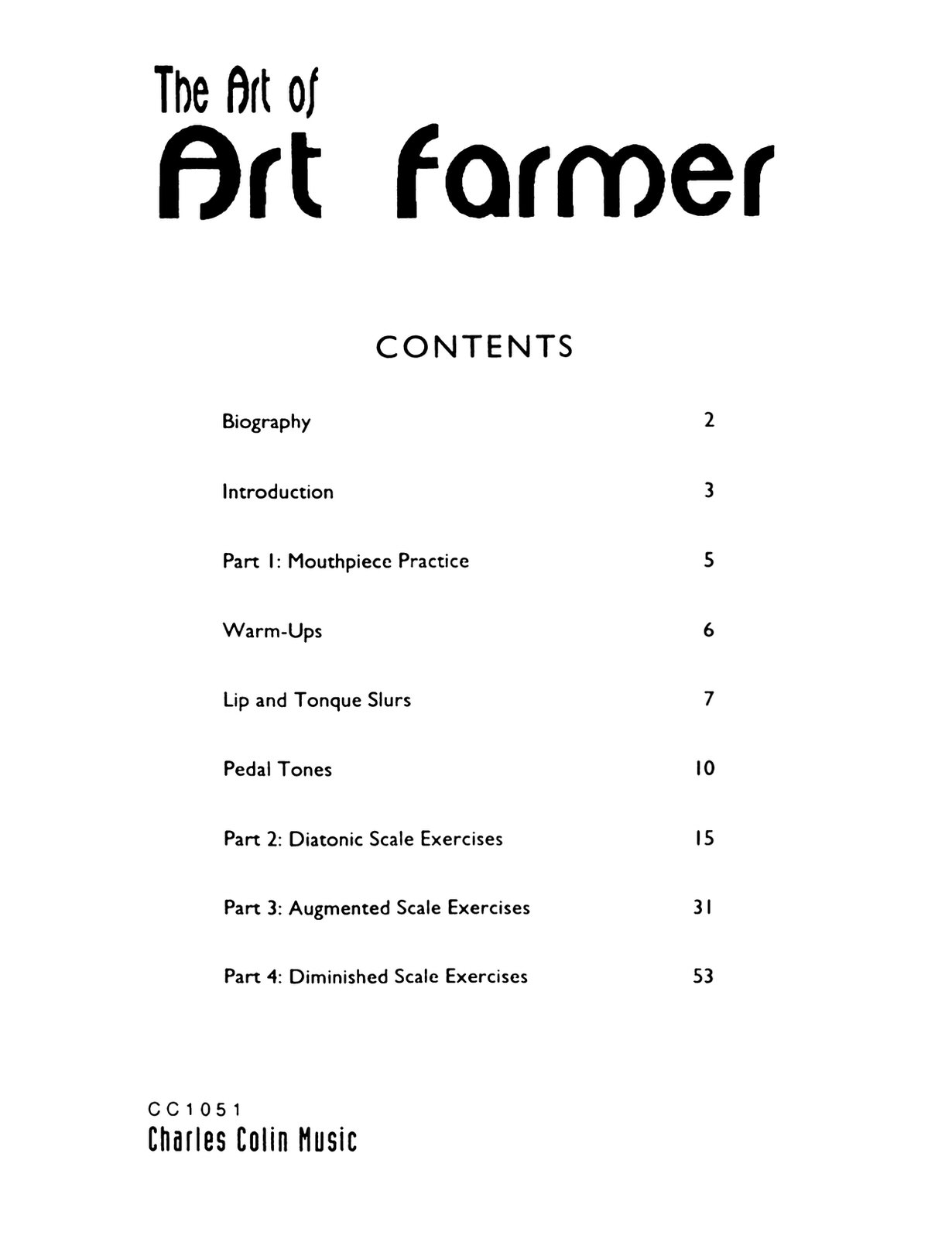 Farmer, The Art of Art Farmer 2