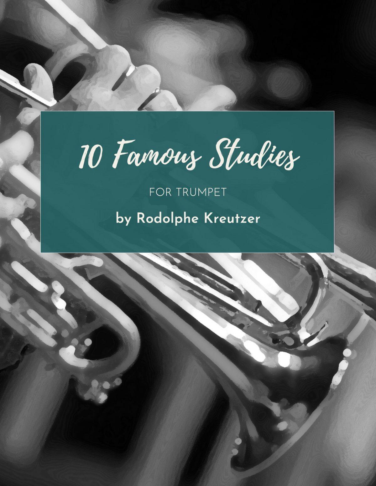 Kreutzer, 10 Famous Studies for Trumpet-p01