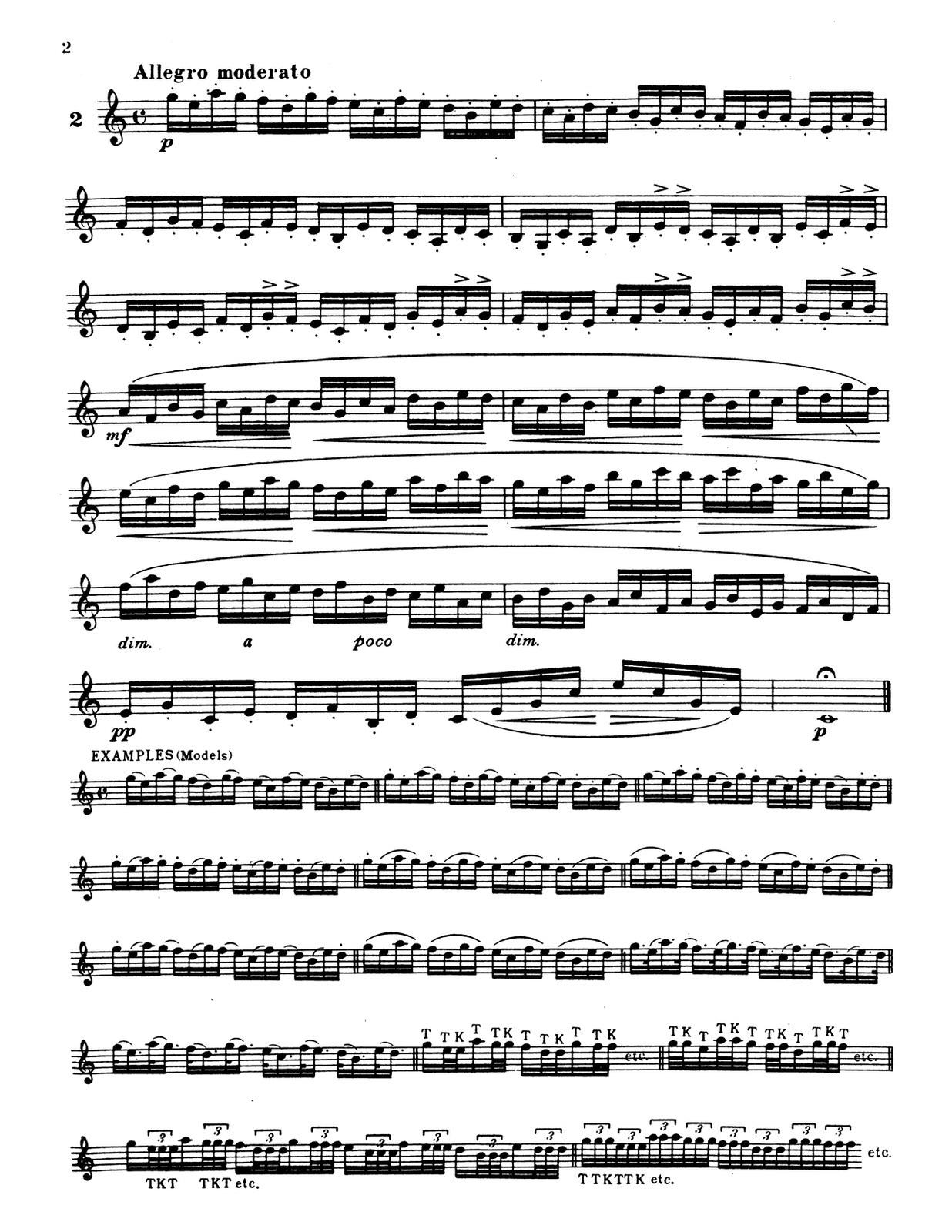 Kreutzer, 10 Famous Studies for Trumpet-p04
