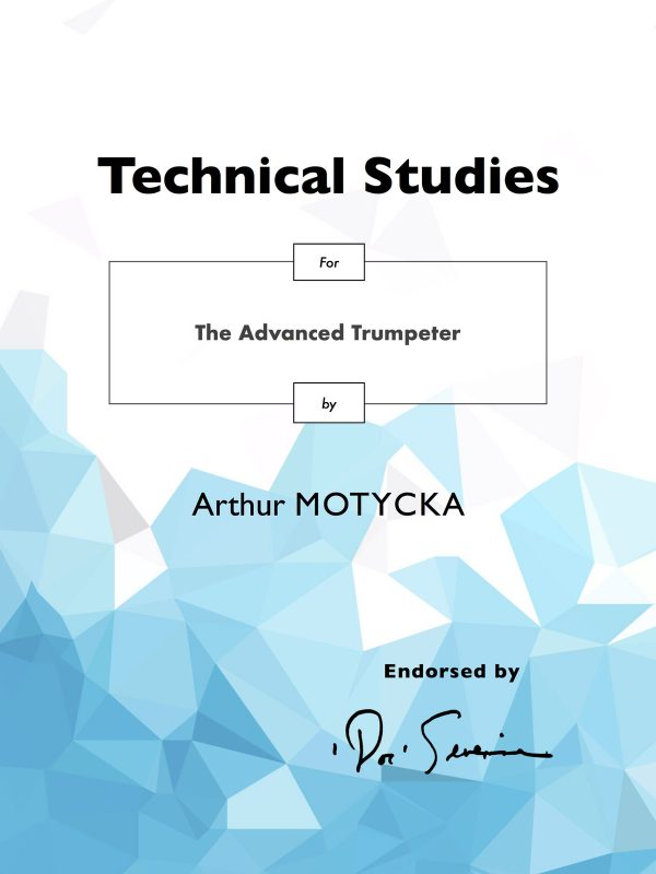 Motycka, Arthur, Technical Studies for the Advanced Trumpeter