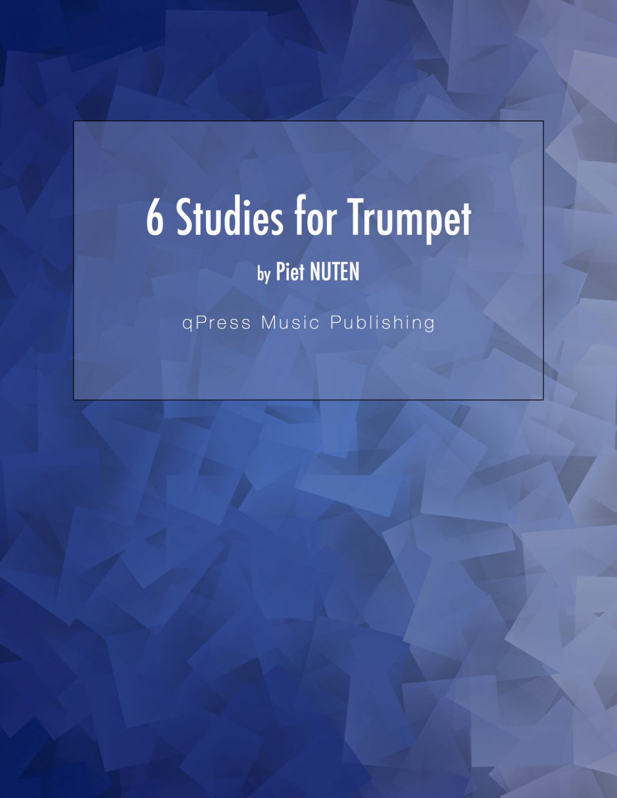Nuten, 6 Studies for Trumpet