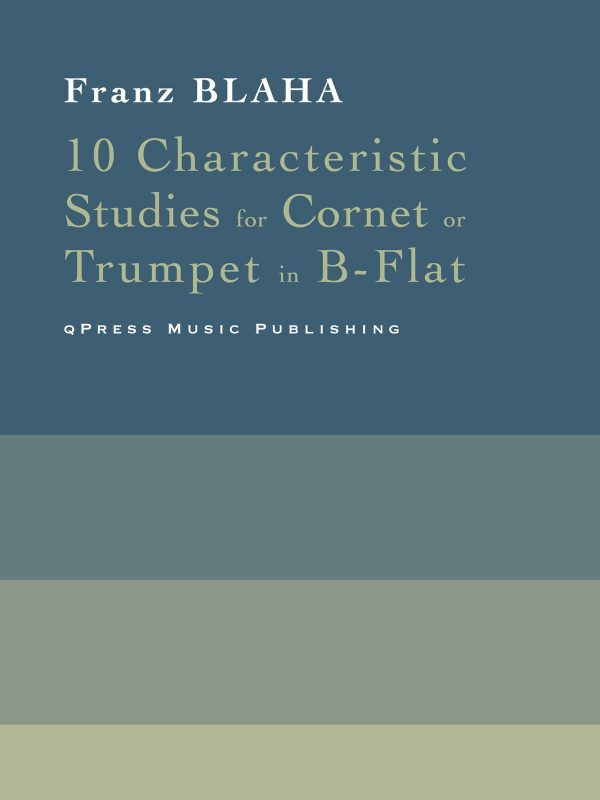 Blaha, Franz 10 Characteristic Studies-p1