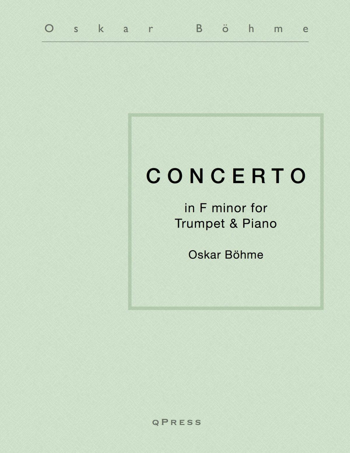 Bohme, Concerto in F-