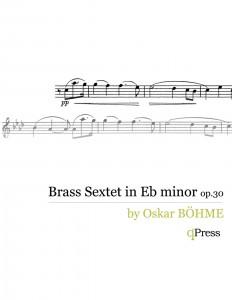 Bohme, Sextet (Score and Parts)