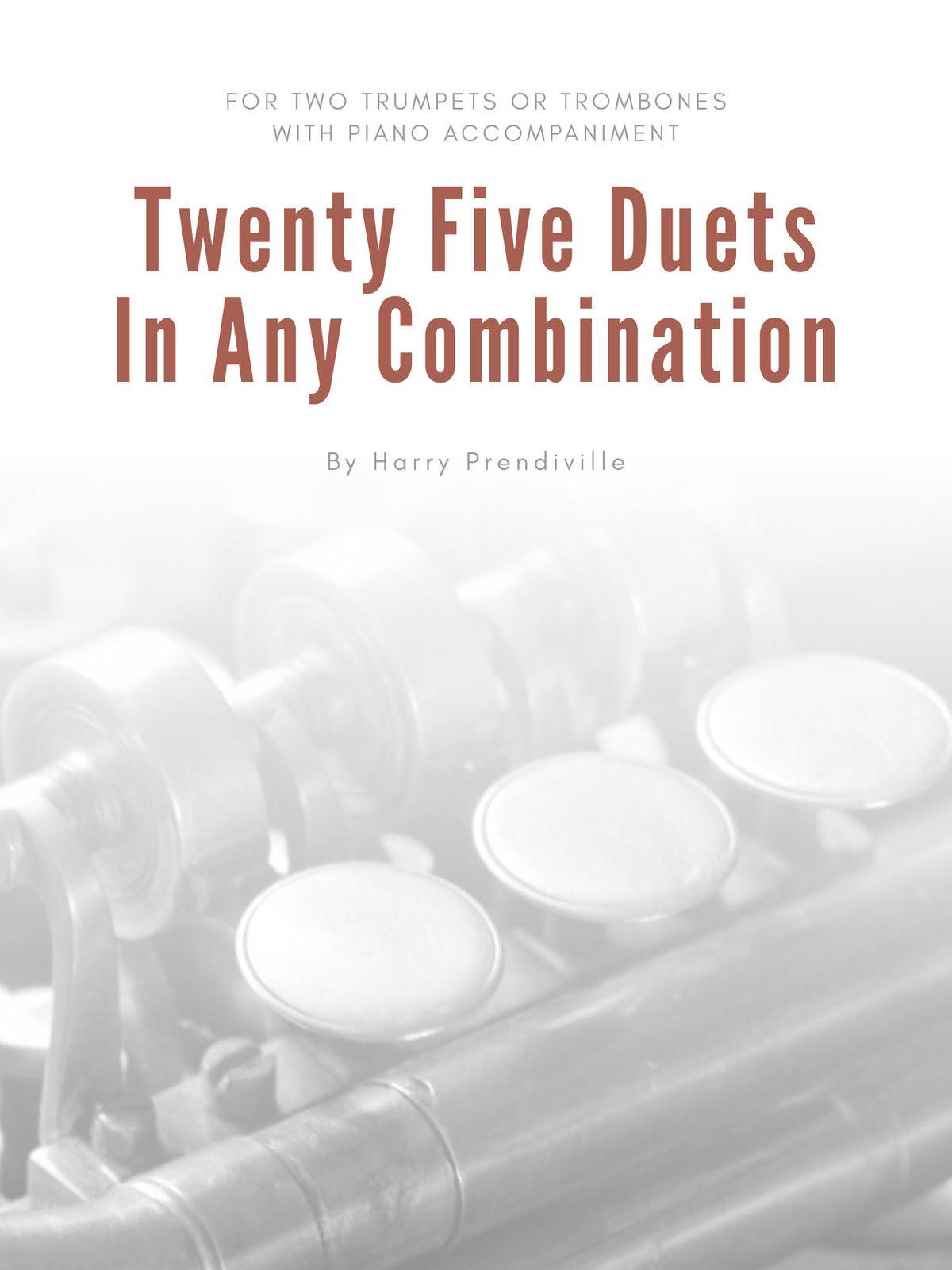 Prendiville, 25 Duets (Parts and Score)