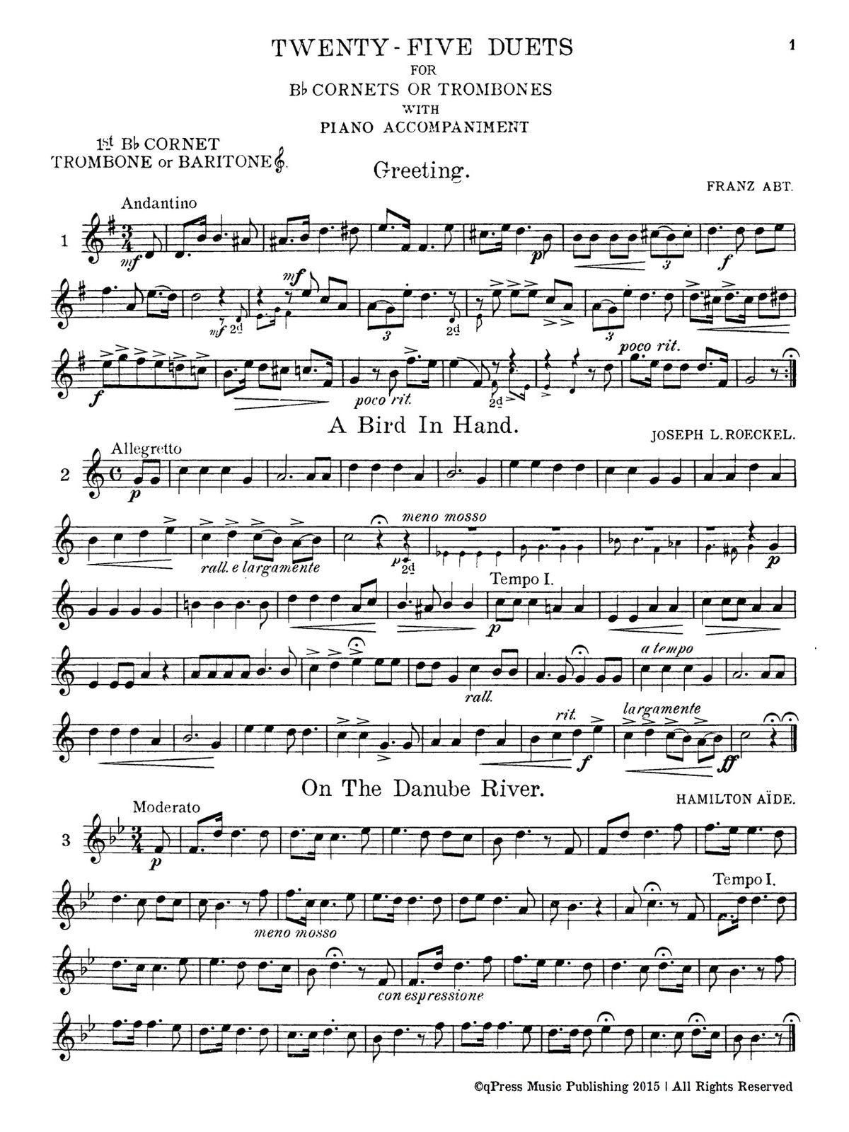 Prendiville, 25 Duets (Parts and Score)-p03