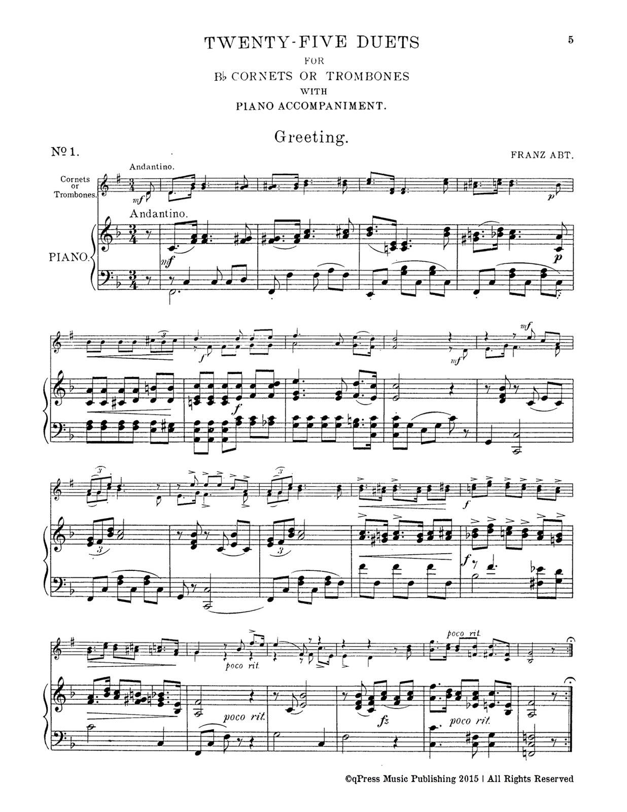 Prendiville, 25 Duets (Parts and Score)-p37