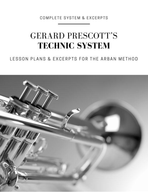 Prescott Technic System for Arban (Trumpet)