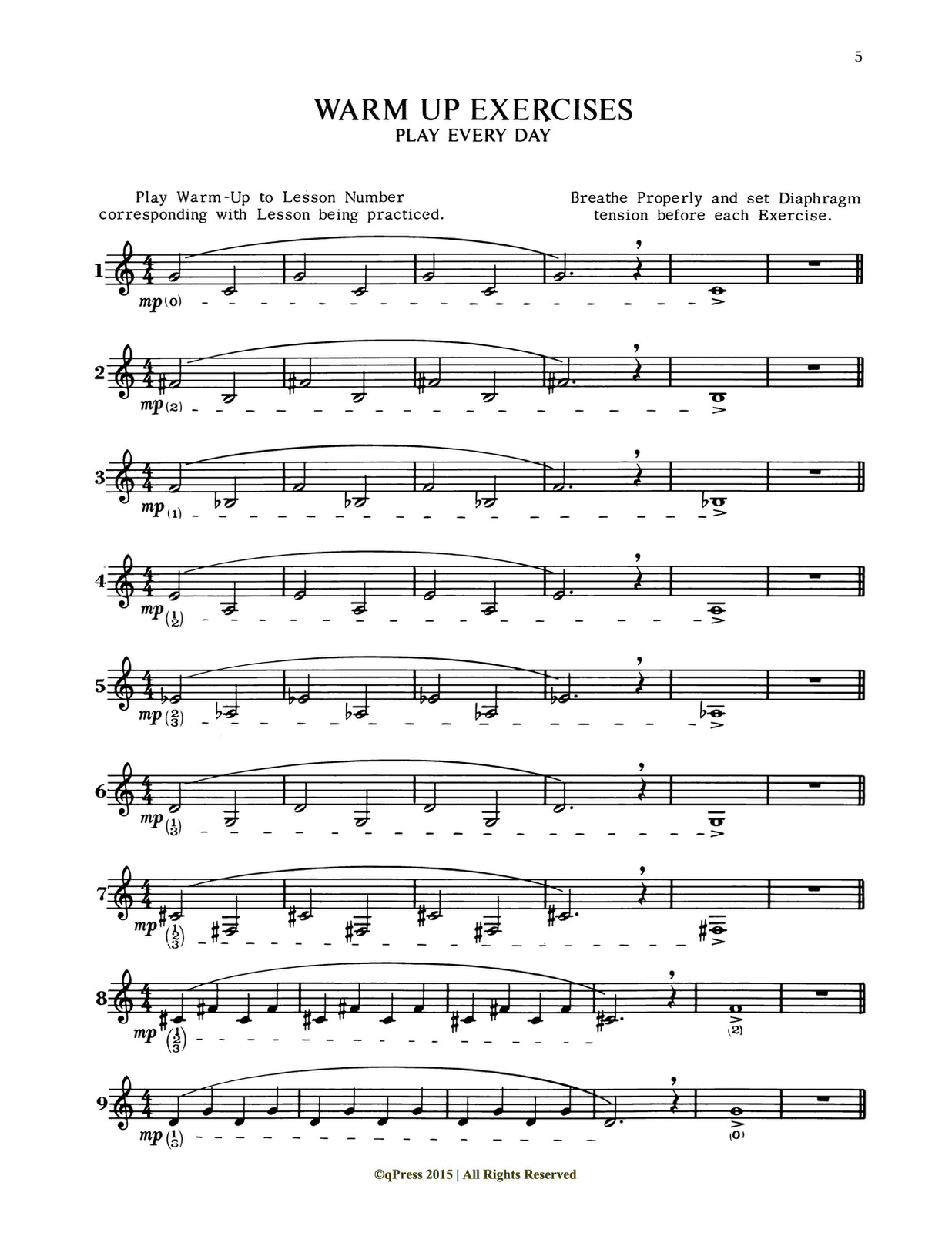 Brisbois, Trumpet Today, Building the Upper Register 4