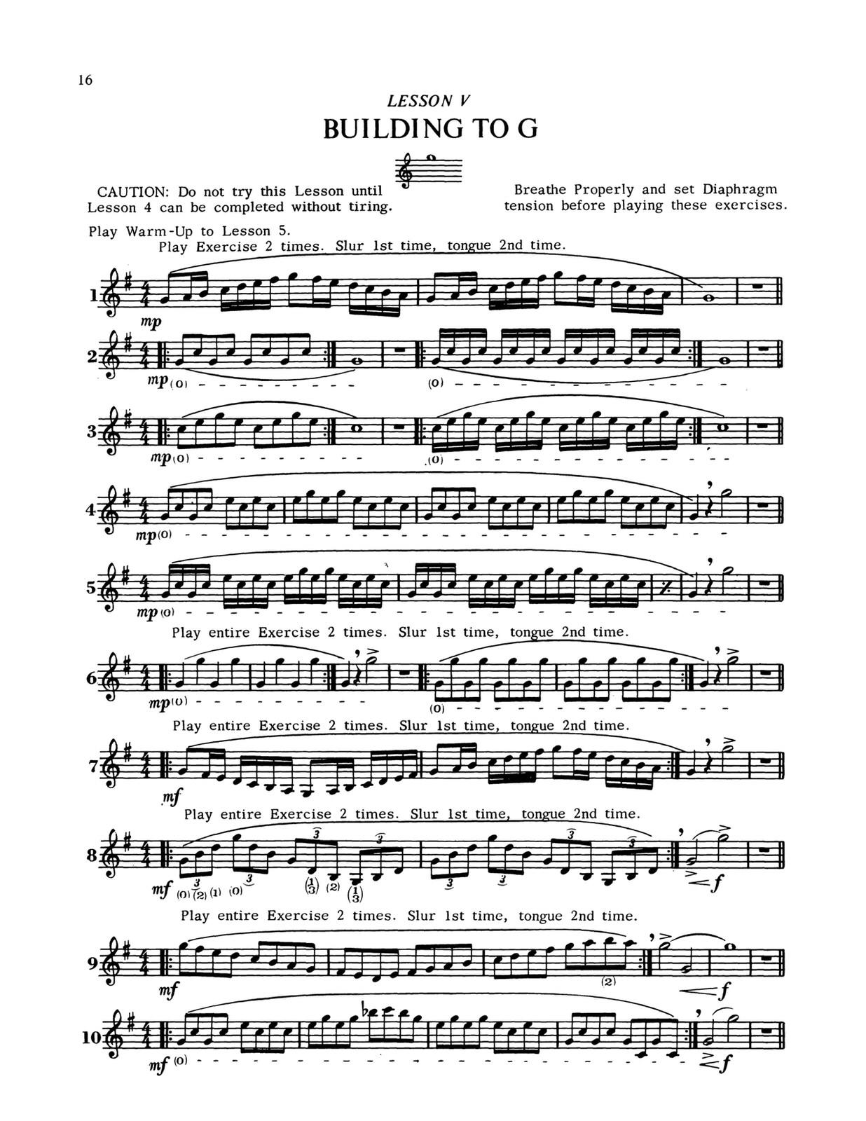 Brisbois, Trumpet Today, Building the Upper Register 5