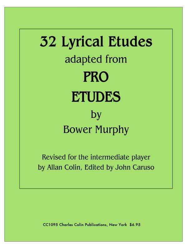 Murphy, 32 Lyrical Etudes (Adapted From Pro Etudes)