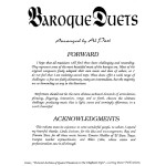Past, Baroque Duets 2