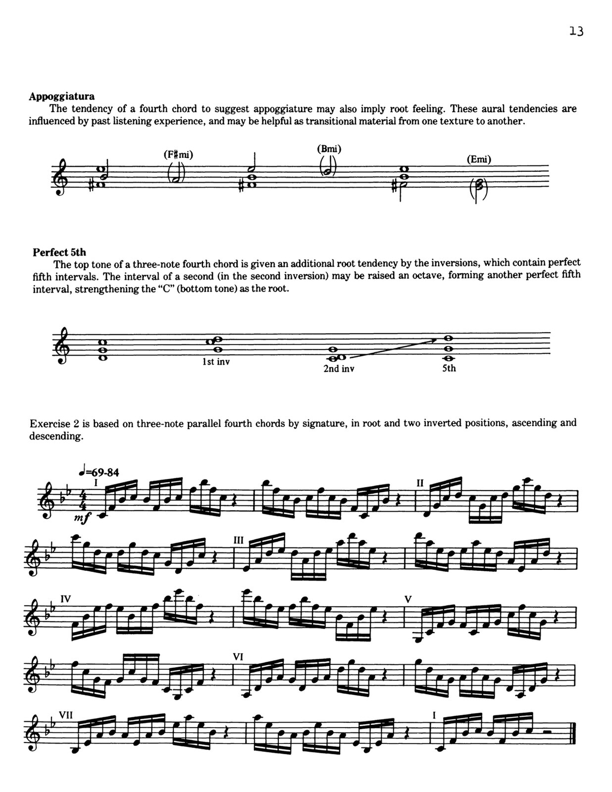 Sandole, Fourth Chords & Scales 4