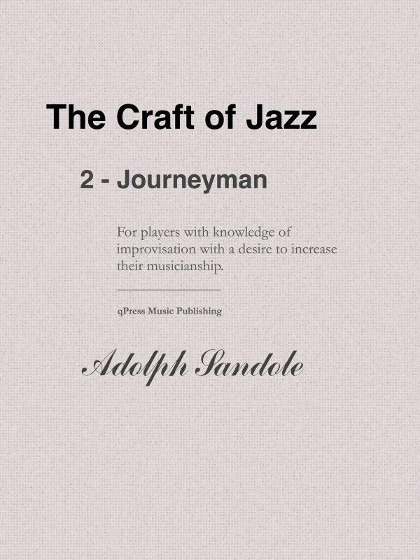 Sandole, Jazz Improvisation II Journeyman