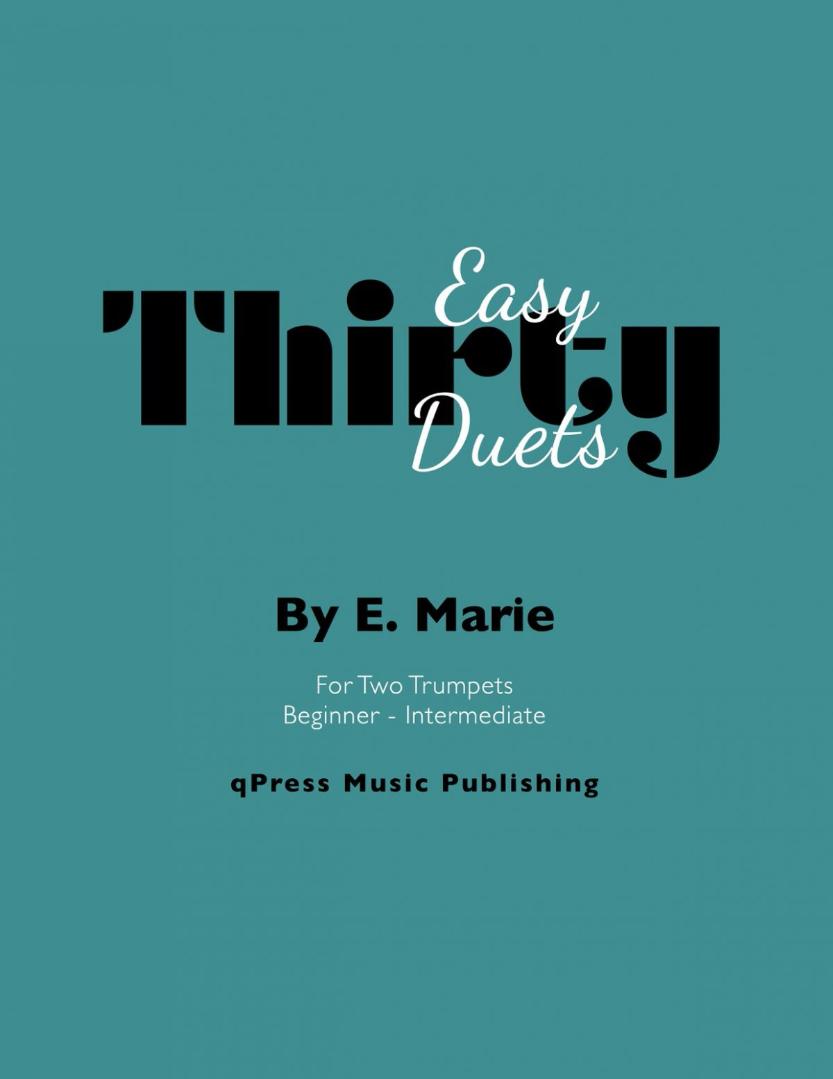 Marie, 30 Easy Duets-p01