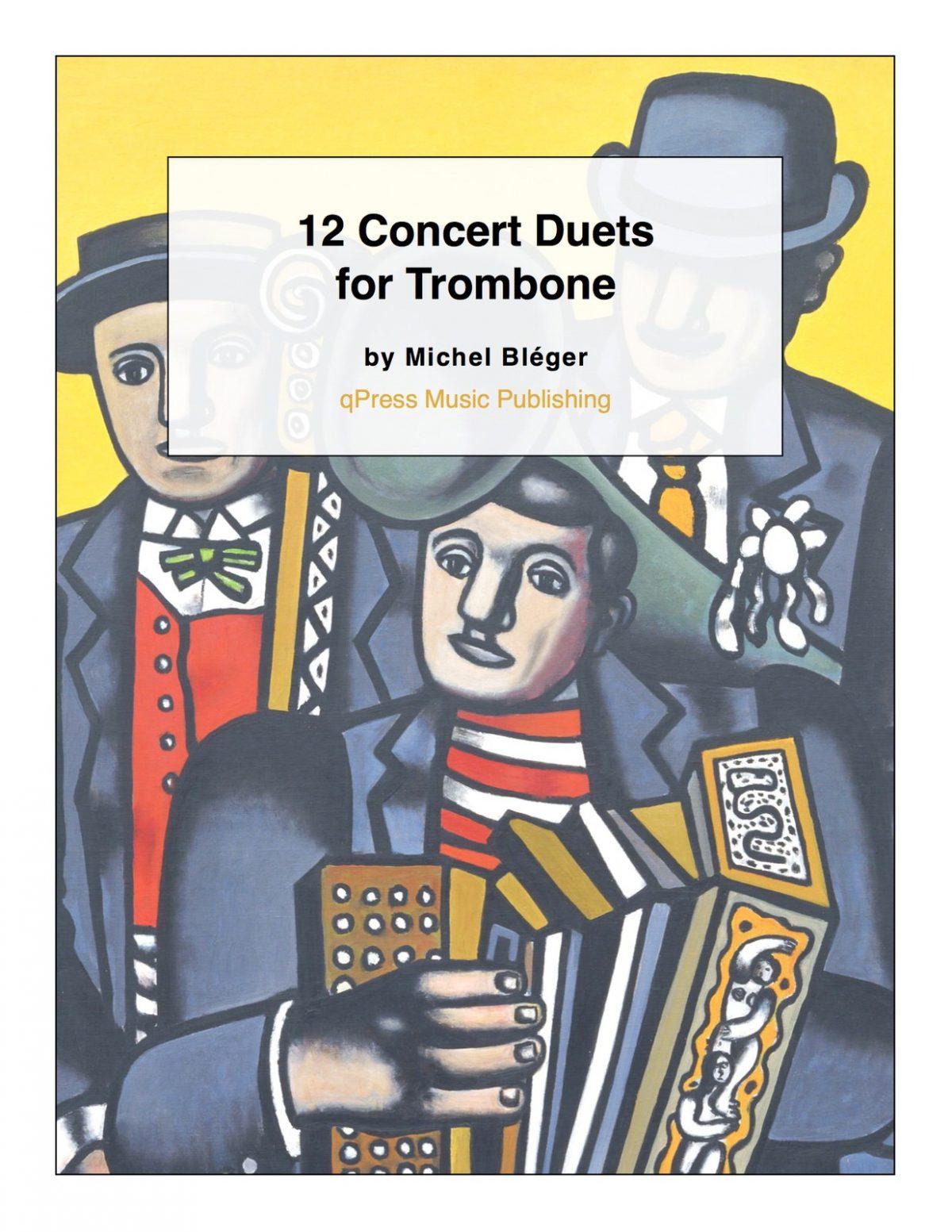 Bleger, 12 Concert Duets for Trombone 1