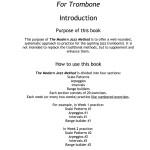 Bolvin, The Modern Jazz Method For Trombone 2