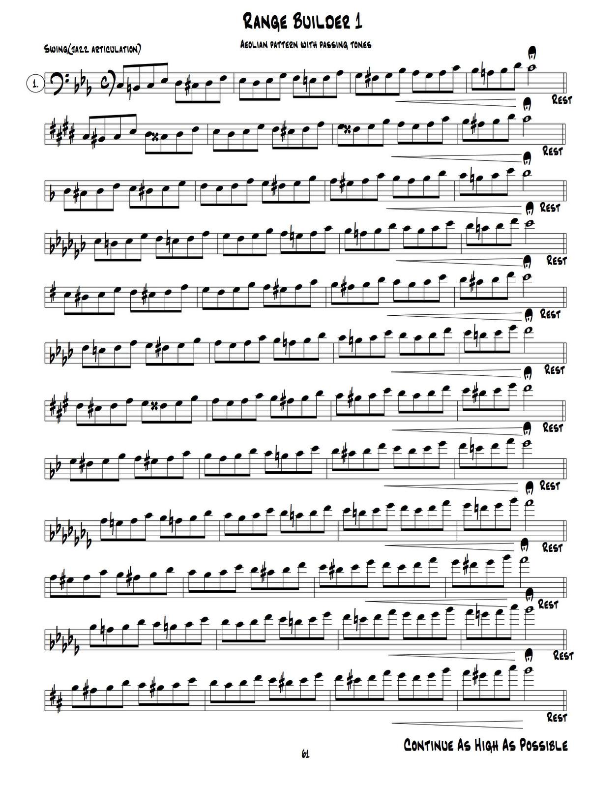 Bolvin, The Modern Jazz Method For Trombone 5