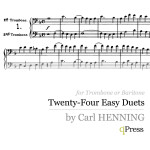 Henning, 24 Easy Duets for Trombone or Baritone