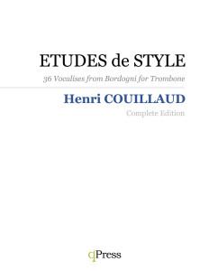 style etudes complete