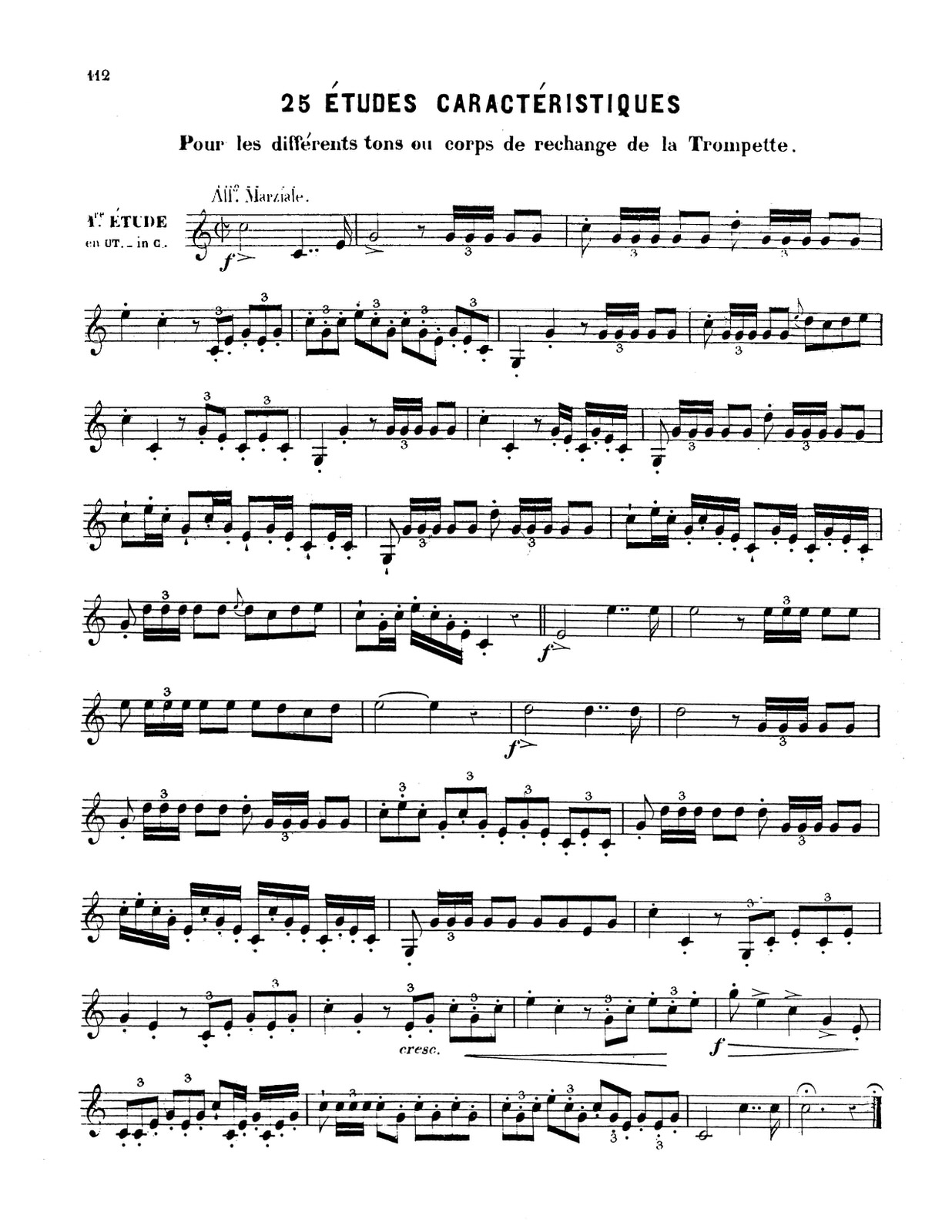 Dauverne, Method for the Trumpet 10