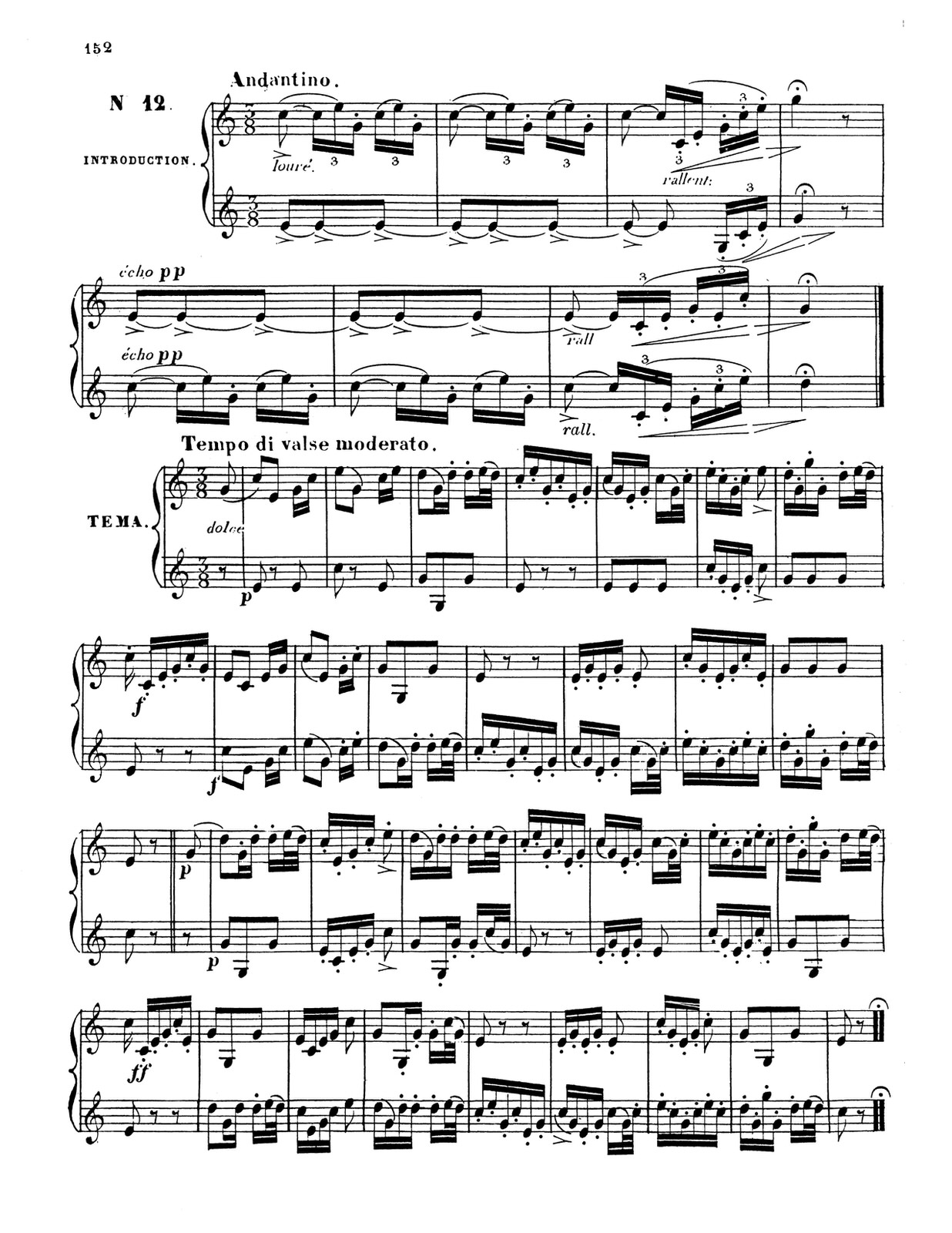 Dauverne, Method for the Trumpet 12
