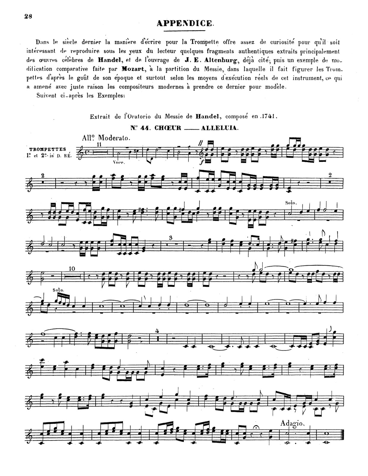 Dauverne, Method for the Trumpet 4