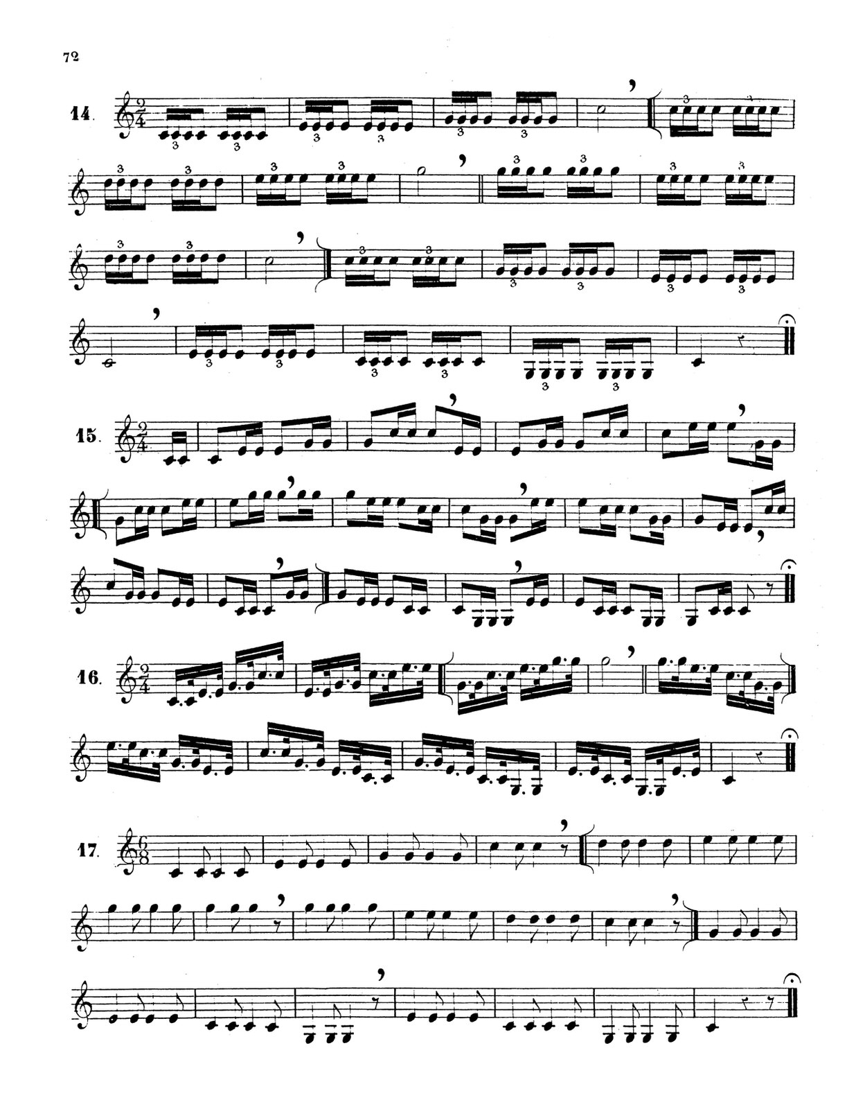 Dauverne, Method for the Trumpet 7