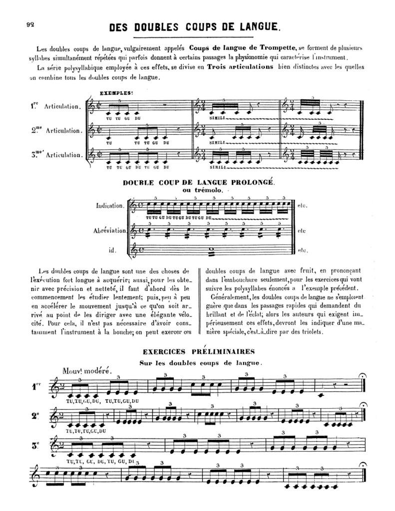 Méthode pour la Trompette