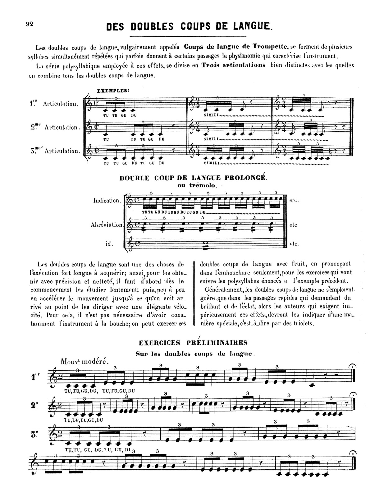 Dauverne, Method for the Trumpet 9