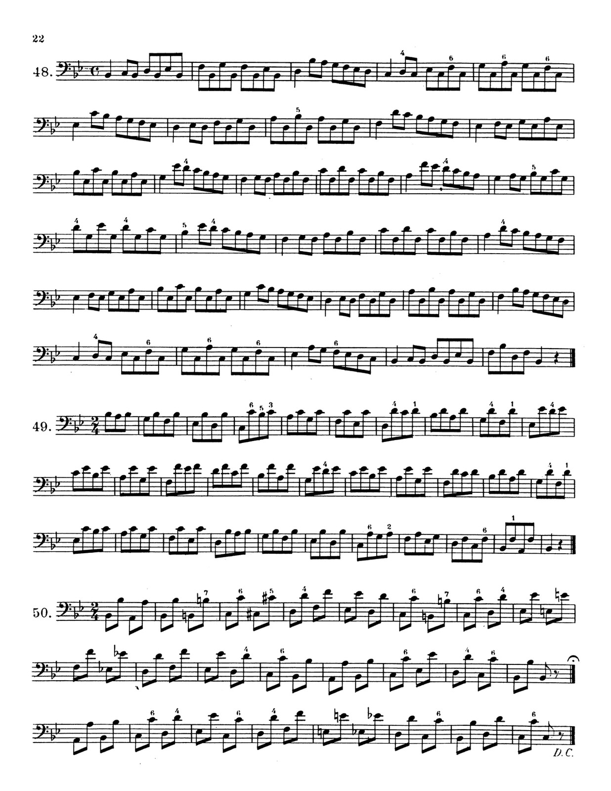 Eby, Arban's Method in Bass Clef for Trombone Complete 5