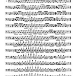 Eby, Arban's Method in Bass Clef for Trombone Complete 7