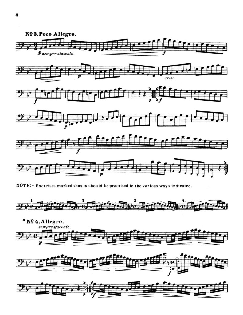60 Selected Studies for Trombone