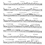Muller, New Method for Slide Trombone Complete Edition 5
