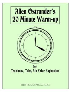 Ostrander, 20 Minute Warm-Up