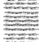 Pares, Scales for Trombone 3