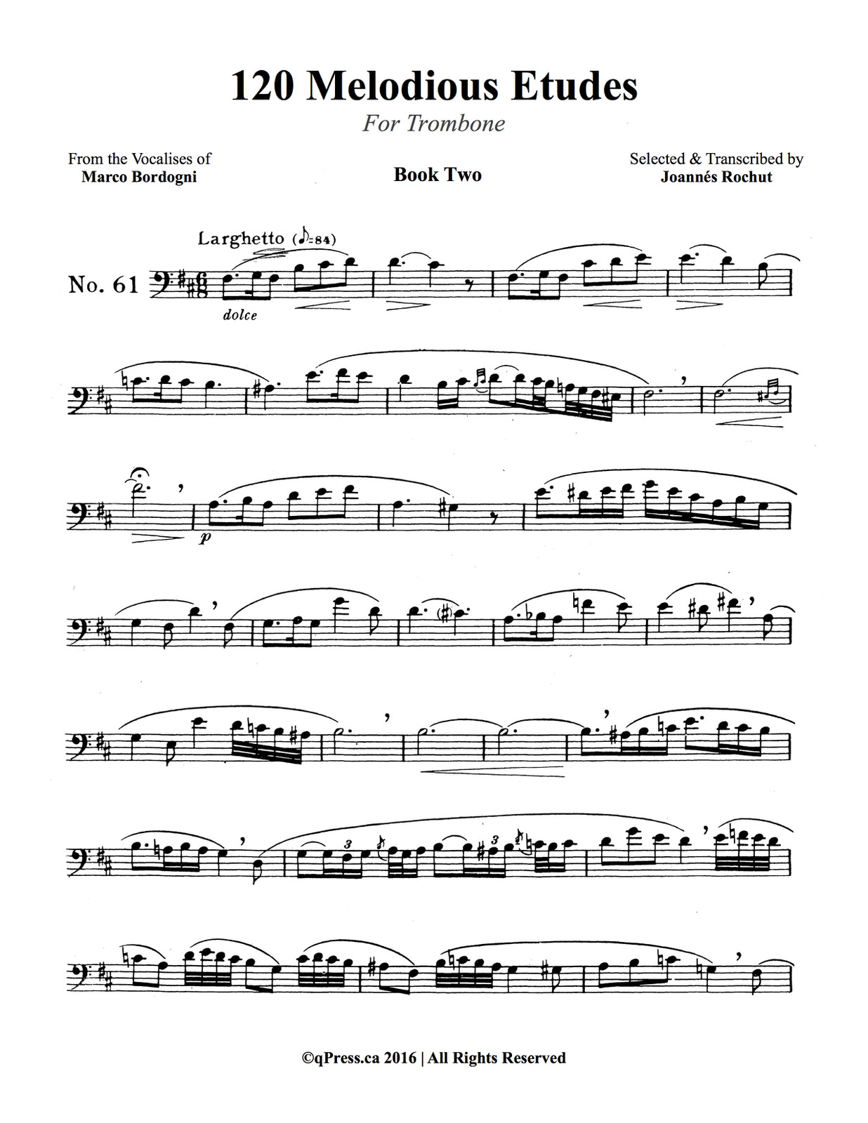 Rochut, Melodious Etudes Book 2 2