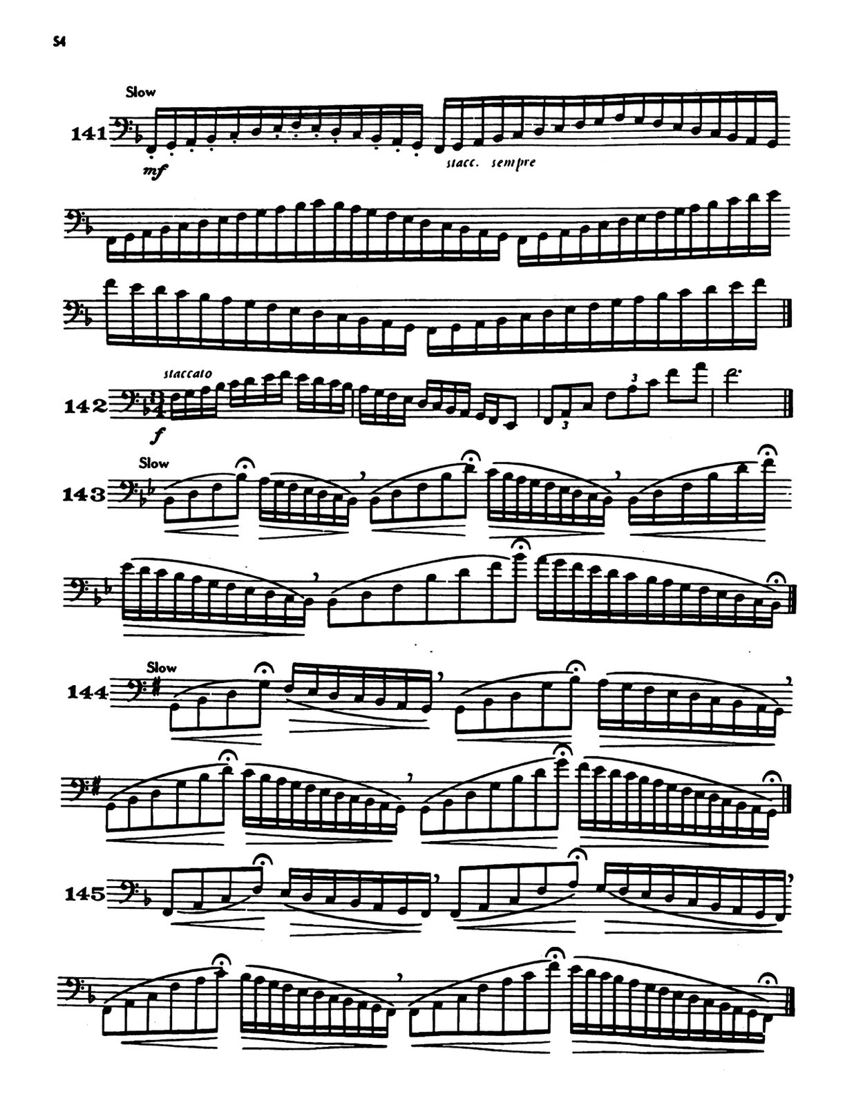 Schlossberg, Daily Drills and Technical Exercises for Trombone 5