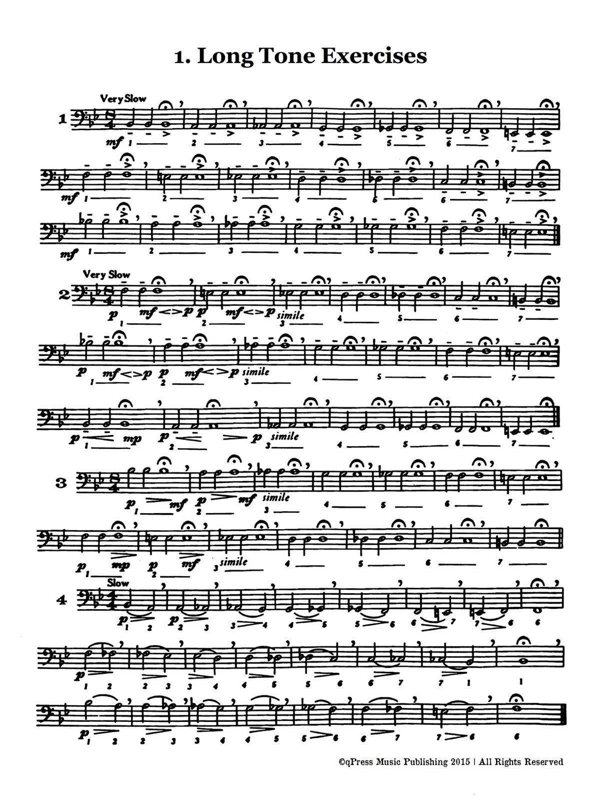 Schlossberg, Daily Drills and Technical Exercises for Trombone-p05