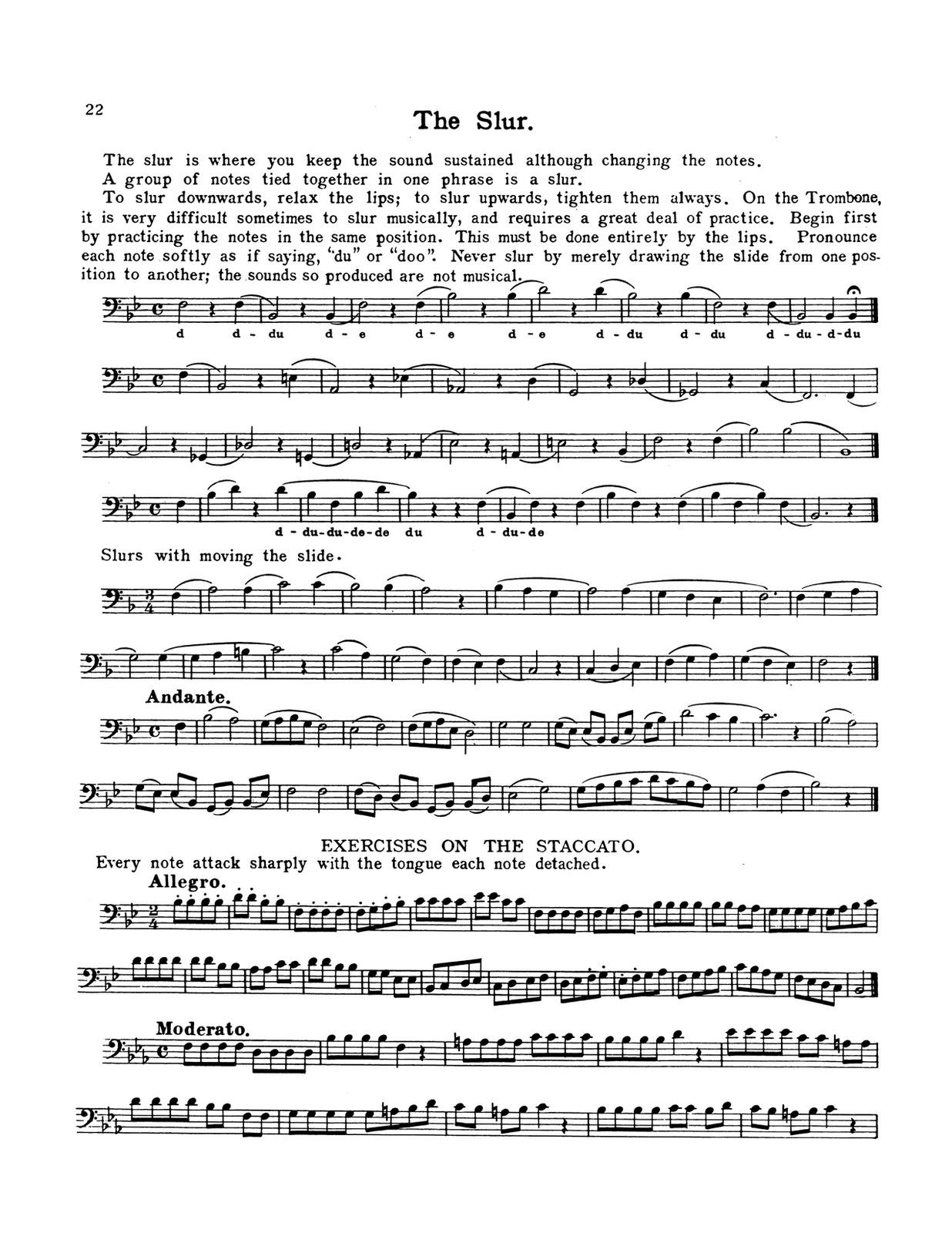 Cornette-Procter, Method for Trombone 4