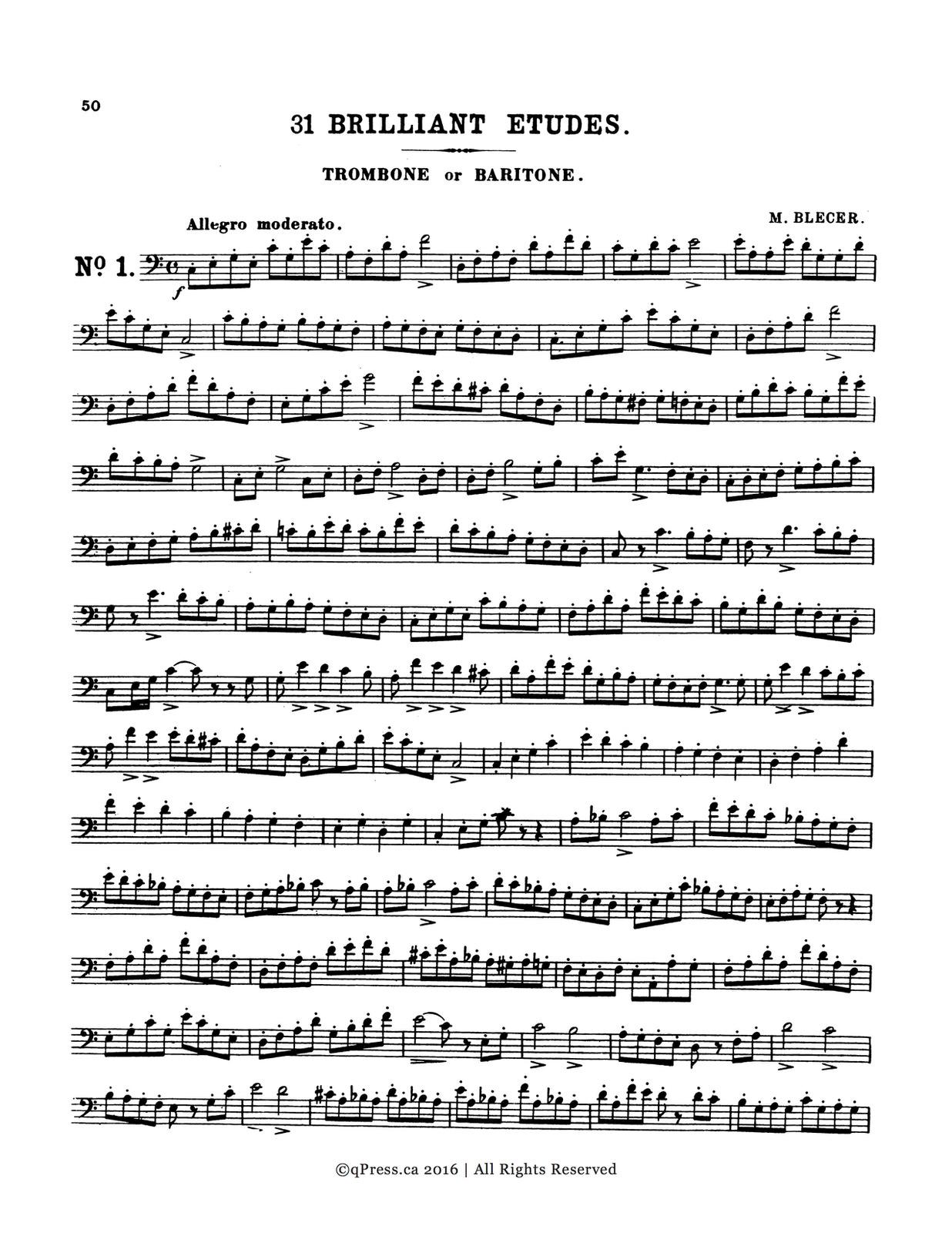 Cornette-Procter, Method for Trombone 6