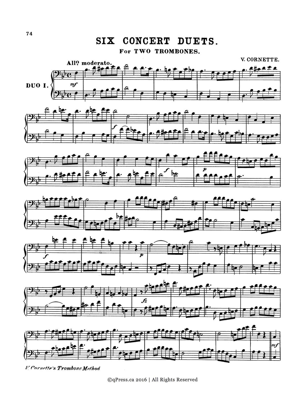 Cornette-Procter, Method for Trombone 7