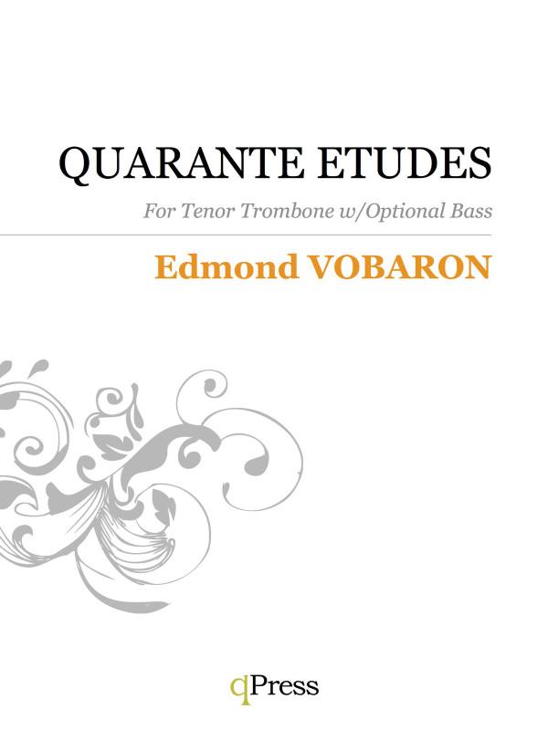 Vobaron, Quarante Etudes Book 1 (Tenor)