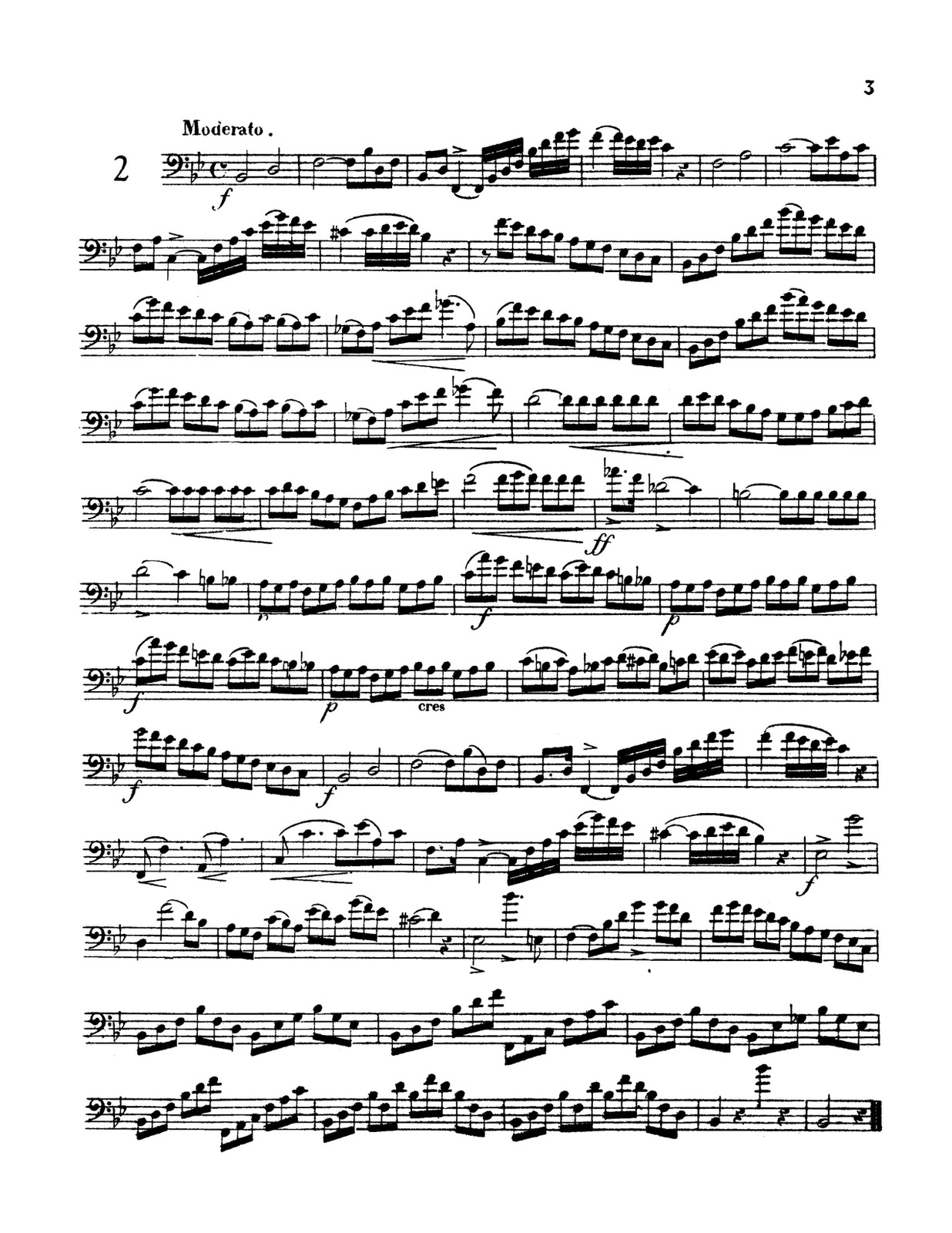 Vobaron's 34 Etudes & Duets trombone 3