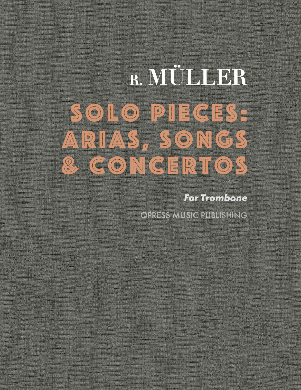 muller, solo pieces complete cover