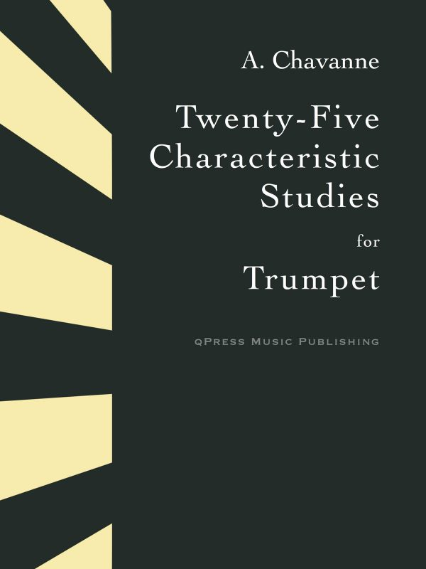 Chavanne, 25 Characteristic Studies-p01