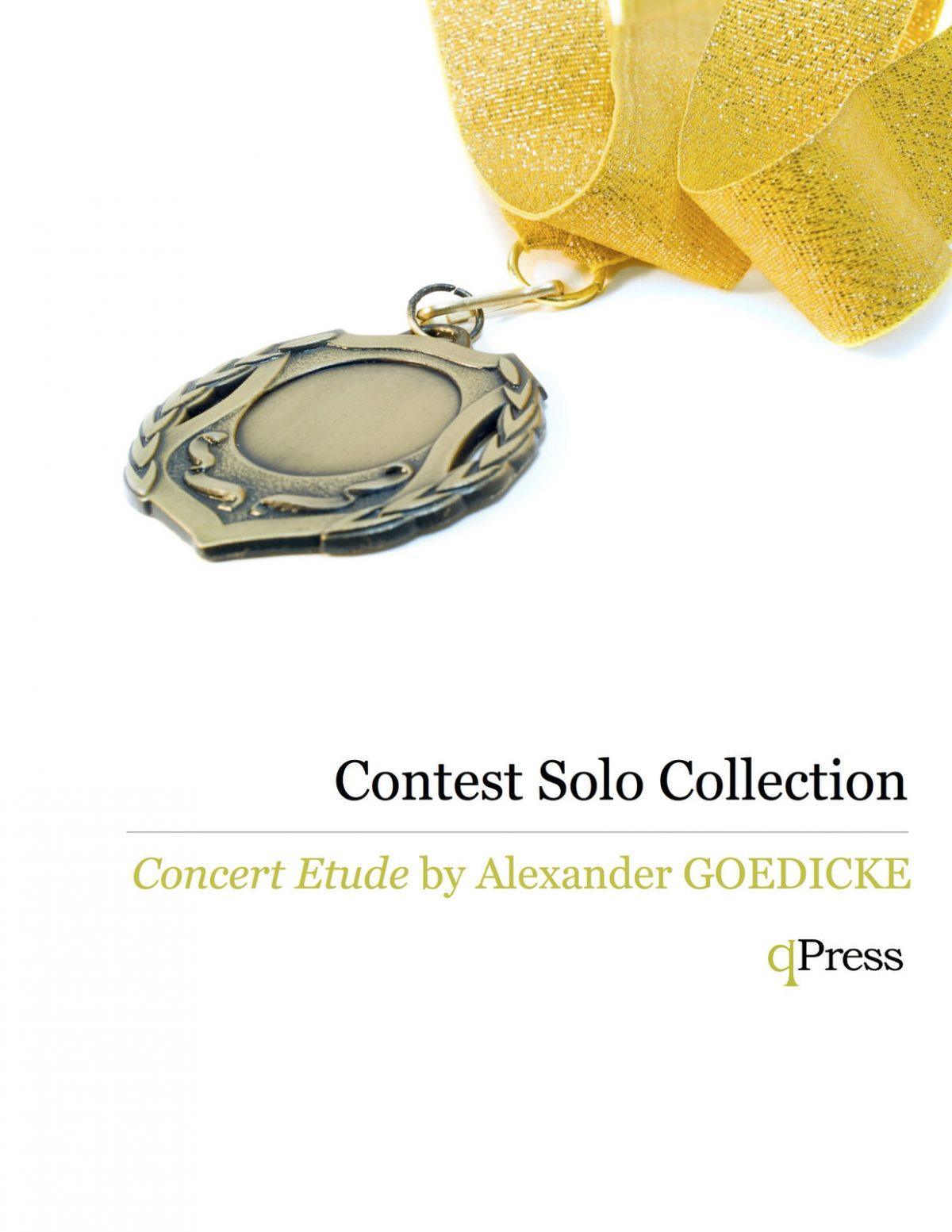 Goedicke, Concert Etude