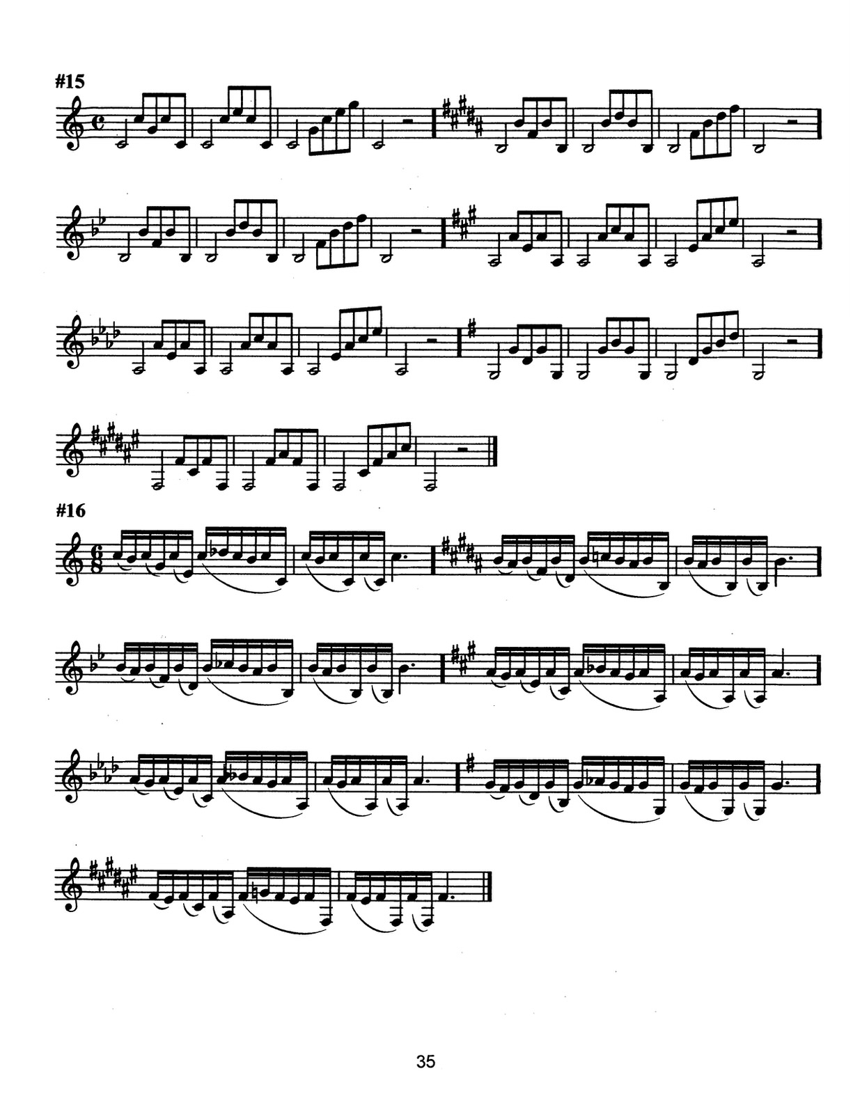 Ponzo, Low Tone Exercise Patterns and Etudes for Trumpet_000039
