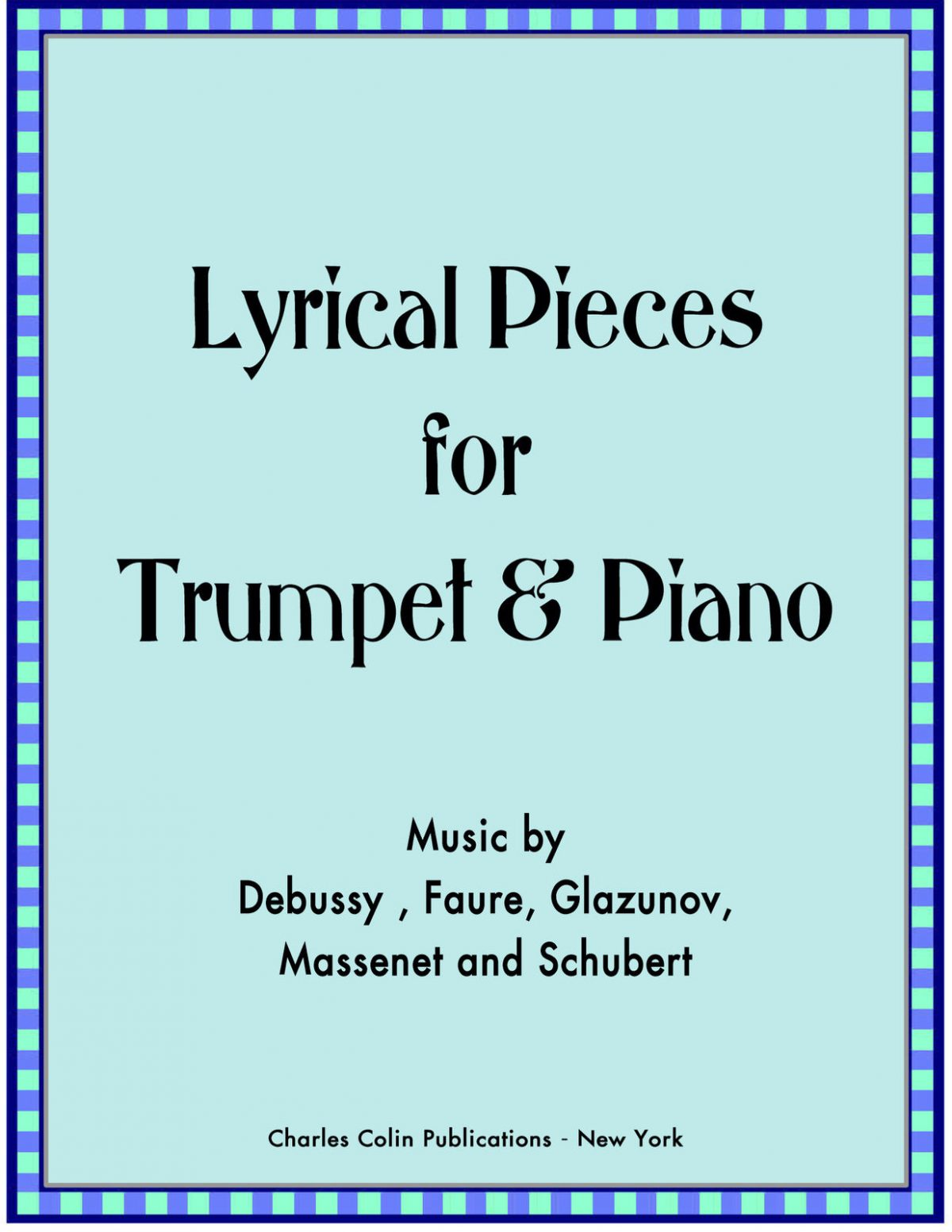 Ponzo, Lyrical Pieces for Trumpet and Piano